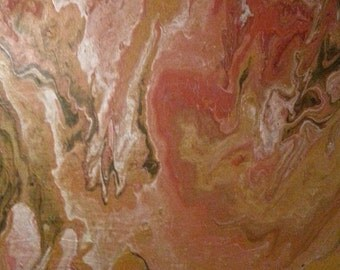 "Art piece by artist Jason Mann, titled ""Shell"". Abstract art with acrylic on canvas 2017.  Jay Mann's abstract art."