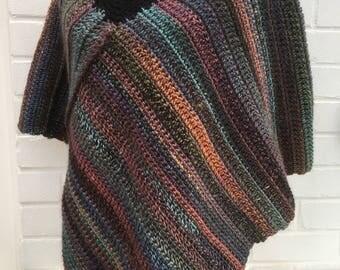 Heather Poncho crochet pattern