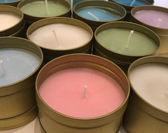 Essential Oil Fragranced Candles