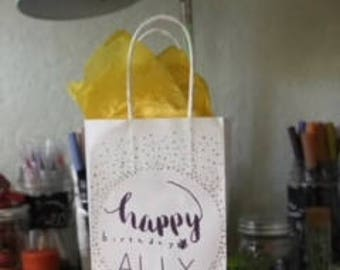 Personalized gift bag (s)