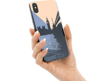 London Skyline iPhone Case, iPhone X Case Cool, iPhone 7 Case, iPhone 8 Case, iPhone 6 Case, iPhone 7 Plus Case, 8 Plus, iPhone 6S