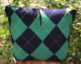 Argyle Sweater Pillow