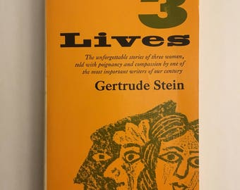 3 Lives By Gertrude Stein
