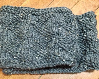 Knitted Double Cowl