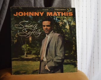 1958 Johnny Mathis ''Swing Softly'' [Vinyl LP]