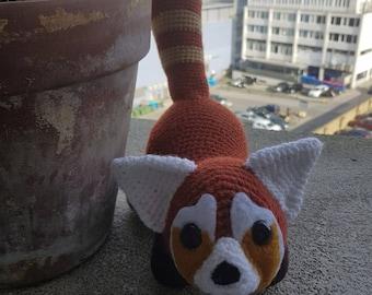 OOAK Red Panda Plush