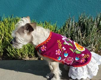 Istmeña Dog Dress Medium