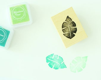 Tropical Leaf Stamp