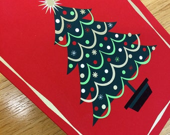 Hand Silkscreened greeting cards for holiday