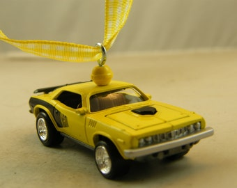 Gentil 71 Cuda   FREE SHIPPING   Anytime Ornament   1971 Plymouth   Fathers Day    Birthday
