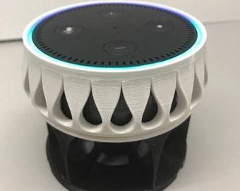3D Printed Echo Dot Docking Station Echo Base Echo Dot Stand Amazon Echo Dot Alexa Stand Echo Dock Echo Mount Echo Dot Acoustic Stand