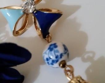 """Pendant Earrings Collection """"novel"""""""