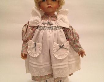 Edwin M Knowles Porcelain Doll