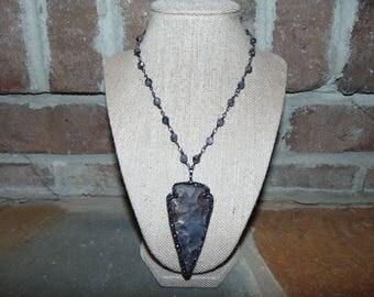 Long Arrowhead Necklace