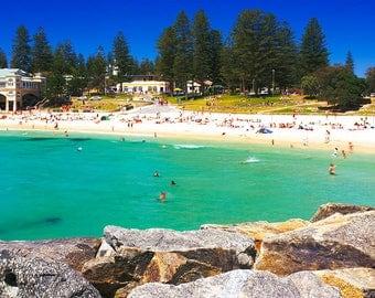 Summers Day at Cottesloe Beach, Western Australia