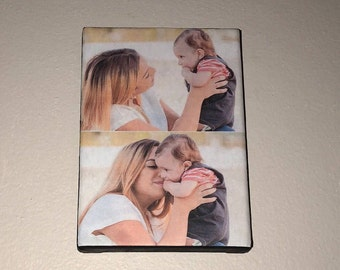 Custom your favorite photo on a canvas, size 5x7