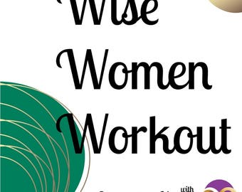 Exercise Planner - Wise Women Workout - Companion workout planner to book The Menopause Diaries