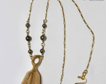 Tibetan Bell Pendant