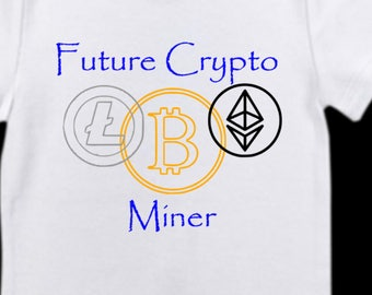 Baby Cryptocurrency Crypto Bitcoin Coins Miner,Future Crypto Miner
