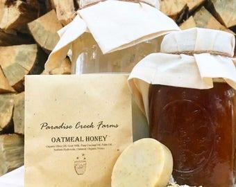 Oatmeal Honey Goat's Milk Soap