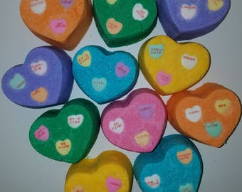Valentine's Day Bath Bombs - 6 for 25