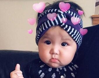 Infant Hmong Turban Headband