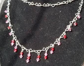 Swarovski Hearts Passion Necklace