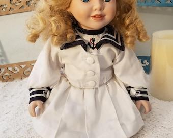 Sailor girl doll
