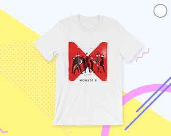 Monsta X Shirt Dramarama 몬스타엑스 Monbebe T Shirt Tee Kpop Idol Unisex Korea