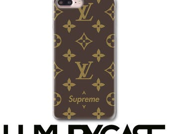 Supreme, iPhone Case, iPhone 7 Plus case, Louis Vuitton, iPhone 6S Case, iPhone 8 Plus Case, Supreme, iPhone 7 case, LV, iPhone 8 Case, 115