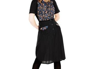 30s inspired Dress Oddveig Blue Everlasting