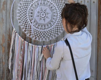 Giant dream catcher handmade