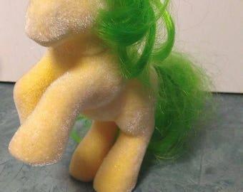 Vintage So Soft My Little Pony Magic Star by Hasbro 1984