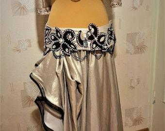 Golden bellydance costume