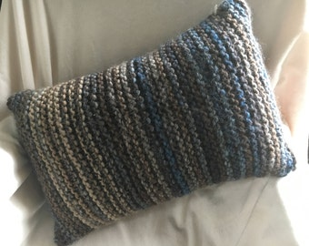Knitted Pillow, pillow, cushion knitted