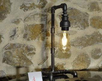 Lamp has put style industrial vintage