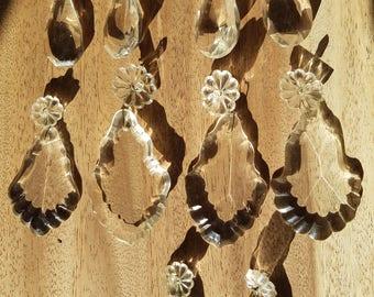 Pendant glass french antique glass pendant