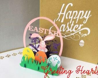 3D Card, Easter Card, Congratulations Card, Celebration Card