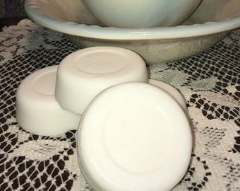 Old Fashioned Lard and Lye Soap- round