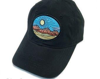 Desert Red Rocks : Unstructured Cap