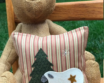 kit; sweet winter sheep pillow, sweet and easy!