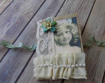 Vintage Princess Paper Bag Junk Journal - Free Shipping!
