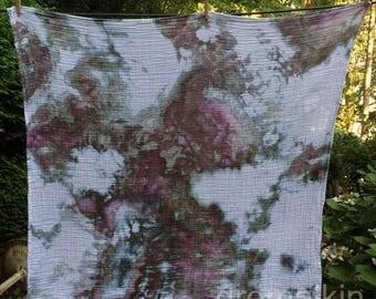 Purple Galaxy Swaddle Blanket