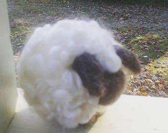 Baa Baa wool sheep - needle felt lamb 3