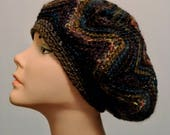 Slouchy Beanie Crochet Hat Free Shipping in the USA