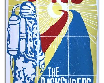 Tourist and Backsliders Screened poster by Brady