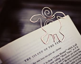 Li-TURTLE-ary | Turtle - Personalized Metal Animal Bookmark - Sterling Silver/Copper/Brass - Bookworm - Literary Gift - Reading
