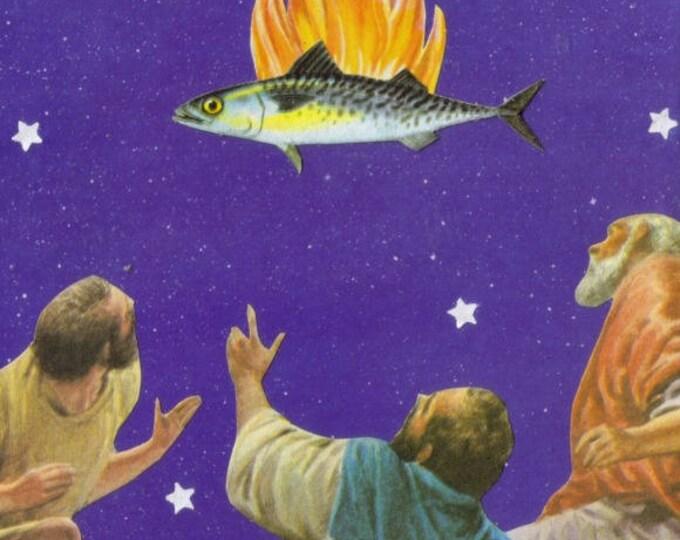 Holy Mackerel, Religious Kitsch Art