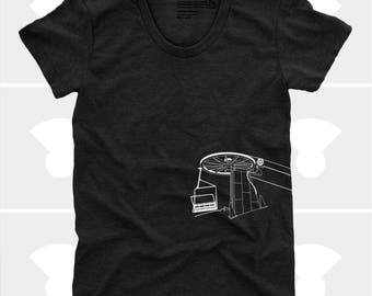 The Mountains Are Calling Chairlift - Women's Shirt
