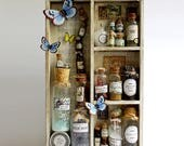 Large Fairy Apothecary of Faerie Magic, Pixie Dust, Vials, Bottles and more